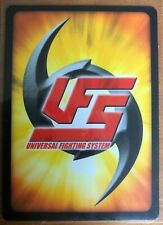 UFS Mortal Kombat 42/44 Uncommon Cards
