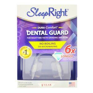 SleepRight DURA-Comfort Dental Guard Night Time Teeth Grinding (Bruxism) Relief
