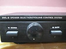 NILES SVL-2 AUDIOPHILE CLASS 2 PAIR SPEAKER SELECTOR VOLUME CONTROL