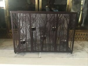 Yankee Candle Forest Trees Twilight Silhouettes Tea Lights Candle Holder
