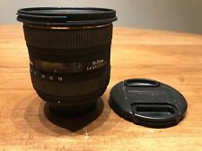 Sigma EX 10-20mm 1:4-5.6 HSM EX DC Lens - For Canon DSLR