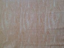 SCHUMACHER Wooden Plank Linen Apricot 1 yd+ New