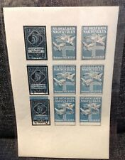 Cinderella poster stamps,labels Hungary.