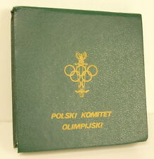 Médaille Jeux olympiques Los Angeles 1984 Polish committee Olympic Games Medal