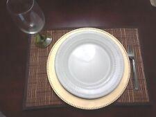 4 Bamboo Placemats Rectangular Mat Kitchen Dining Table Mats Decor Tableware
