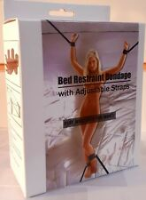 Under The Bed Restraint System Adult Bondage Straps Cuffs Kit SM Fetish