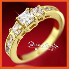 Diamond Three-Stone Fashion Rings