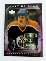 Wayne Gretzky 1999-00 Upper Deck Exclusives #39 Hart of Gold Edmonton Oilers