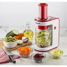 Gourmia Electric Spiralizer Slicing Vegetables Slicer Chopper & Dicer - RED