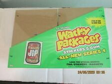 SEALED 2006 Topps Wacky Packages ANS4 Blister Pack Display Case 20 Pack
