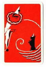 Swap playing cards     1 x  Clown and Terrier Dog