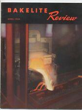 BAKELITE REVIEW 1954 VINTAGE MAGAZINE MID CENTURY PRODUCTS PLASTICS INDUSTRY
