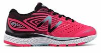 New Balance Kid's 880v7 Big Kids Female Shoes Pink with Black & Blue