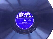 Tony Martin 78rpm Single 10-inch Decca Records #2936 Careless & Indian Summer