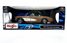MAISTO 1957 CHEVROLET CORVETTE  MAISTO DIE CAST CAR 1:18 SCALE