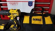 "Dewalt DCD777  20V Max Cordless Li-Ion 1/2"" Drill Driver & DCB207 Battery + Bag"