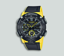 Authentic Men's G-Shock Casio Ana-Digi Resin Strap Watch GA2000-1A9