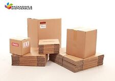 """30 x Small Packaging Double Wall Cardboard boxes 7 x 7 x 7"""" - cube"""