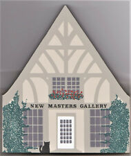 "Cat's Meow Village Rt S 6 ""New Masters Gallery"" Carmel, Ca  New/Value  $16"
