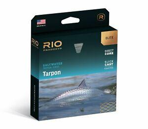 RIO Elite Tarpon Fly Line - WF12F - Color Seagrass/Orange/Sand - New