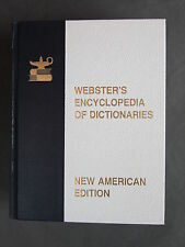 Websters Encyclopedia of Dictionaries New American Edition 1981 - J G Allee