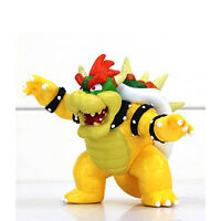 """9"""" Tall Super Mario Bros Brothers Bowser King Koopa Action Figures Toy Gift US"""