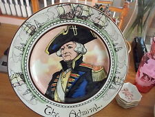 "Royal Doulton ADMIRAL LORD NELSON ""The Admiral"" Collector Plate"