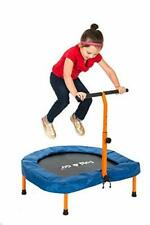The Original Toy Company Deluxe Fold & Go Indoors and Ourdors Kids Trampoline