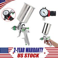 Auto Paint Primer Metal Flake 2.5mm HVLP Gravity Feed SPRAY GUN Kit w/Regulator