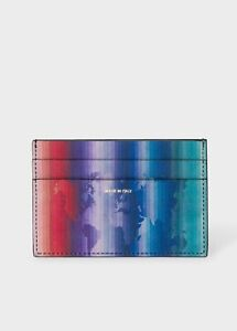 NWT $200 Paul Smith Rainbow Map Card Holder. Made in Italy. Yours for?