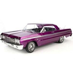 Redcat SixtyFour Hopping Lowrider electric purple Kandy Chrome Impala SS