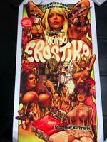 ROCKIN' JELLY BEAN ART MONDO EROSTICA SILK SCREEN POSTER 100 LIMITED RARE 3RD