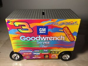 XRARE Dale Earnhardt #3 PETER MAX 2000 DieCast NASCAR PIT WAGON be $200.00