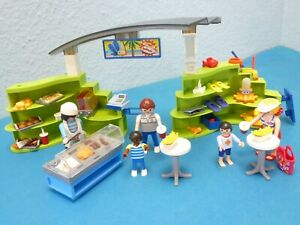 6672 Shop Imbiss zu 70609 Aqua Park 4858 9422 Figuren Playmobil 1546