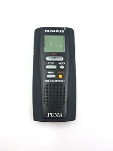 OLYMPUS PUMA VOICE RECORDER TACTICAL LAW ENFORCEMENT POLICE SPECIAL DICTATION