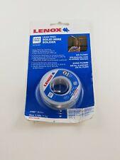 Lenox Solid Wire Solder 14 Lb Spool Lead Free Roll Plumbing 118