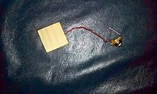 Wooden Pre-wired Piezo Pickup for Cigar Box Guitars Instruments and Stomp Boxes