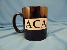 Coffee mug tea cup ACA Arms Control Association logo 1971 mission