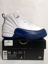 Brand New Nike Jordan 12 Retro BP French Blue XII 151186-113 1.5Y