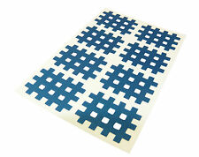 160x Cross Kindmax Hellblau 21mm x 27mm Kinesiologie Tape