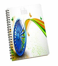 India Print 120 Page Stationery Cute A5 Notebook Notepad Diary Book Journal