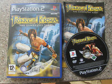 SONY PLAYSTATION 2 PS2 GAME PRINCE OF PERSIA THE SANDS OF TIME