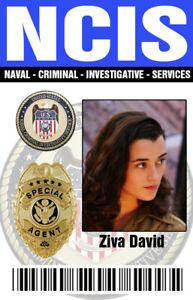 NCIS Ziva Badge
