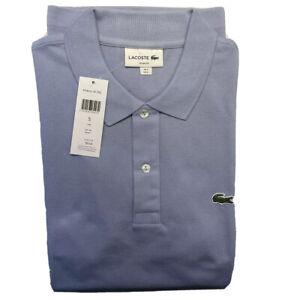 Lacoste Polo 5 Size L Men Brand New Blue Light
