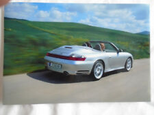 Porsche 911 Carrera 4S Cabriolet press photo c2003 German text v2
