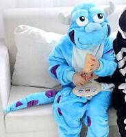 Kids Pajamas Pikachu Kigurumi Unisex Cosplay Animal Costume game sleepwear new