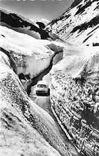 BR18750 Pays Du mont Blanc en hiver les murs de neige de la route blanche france