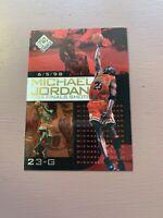 1998-99 Upper Deck UD Choice Preview NBA Finals Shots Michael Jordan #10, Bulls