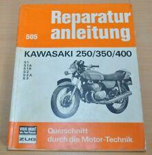 Kawasaki 250 350 400 S1 S2 S3 A B Motor Bremsen Kupplung Reparaturanleitung B505