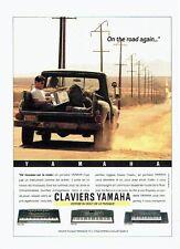 Publicité Advertising 037  1990   Yamaha musique  claviers portables